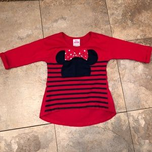 Minnie Mouse Disney toddler shirt size 3T